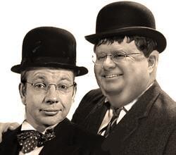 The evil CoEmperors M Horatio Govus and E Picklio